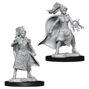 D&D Mini Human Female Sorceror