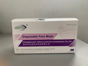 Disposable Face Masks - Basic Safe Solution