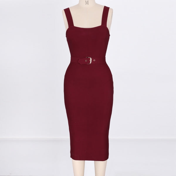 New High Quality Bandage Bodycon Dress - The Star Fashions