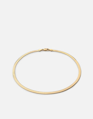 Load image into Gallery viewer, Miansai Herringbone choker, gold vermeil