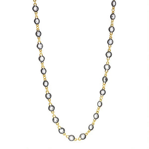 Freida Rothman Embellished Wrap Chain Necklace