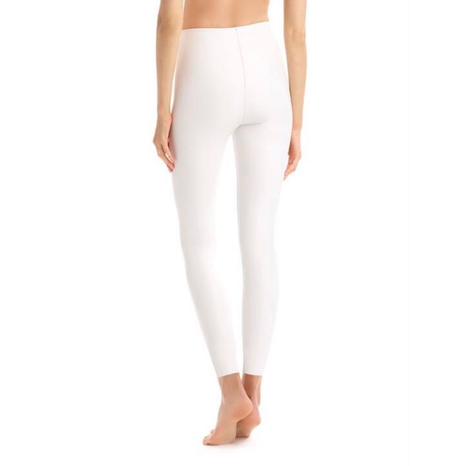 Commando White Faux Leather Legging with Perfect Control