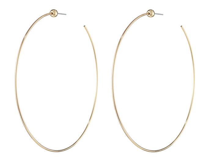 Load image into Gallery viewer, Jenny Bird Icon Hoops Medium Gold