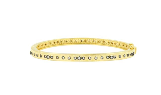 Freida Rothman Mini Stud Eternity Hinge Bangle YRZB080056B