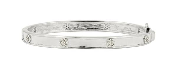 Load image into Gallery viewer, Freida Rothman Radiance Hinge Bangle RNPZB14-H