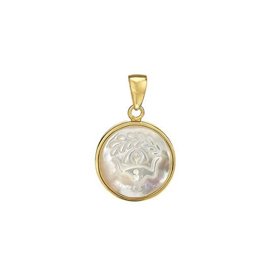Load image into Gallery viewer, ASHA Virgo Zodiac Charm 14k Vermeil