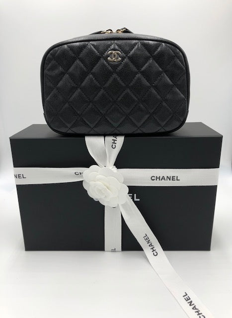 Chanel O - Case Cosmetic Bag