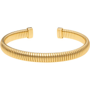 Load image into Gallery viewer, Janis Savitt Open Cuff Cobra Bracelet Gold
