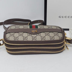 Gucci GG Supreme Ophidia Canvas Mini Crossbody Bag