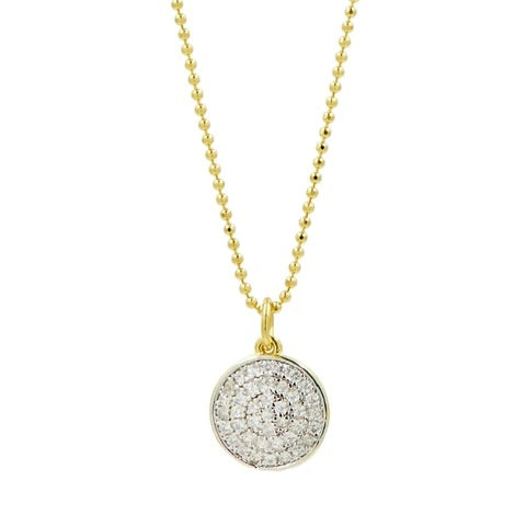 Load image into Gallery viewer, Freida Rothman Radiance Pave Pendant Necklace RNPYZN15-16E
