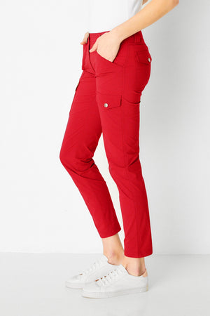 Anatomie Kate Cargo Slim Fit Red