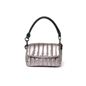 Load image into Gallery viewer, Think Royln Petite Bar Bag in Pearl Latte