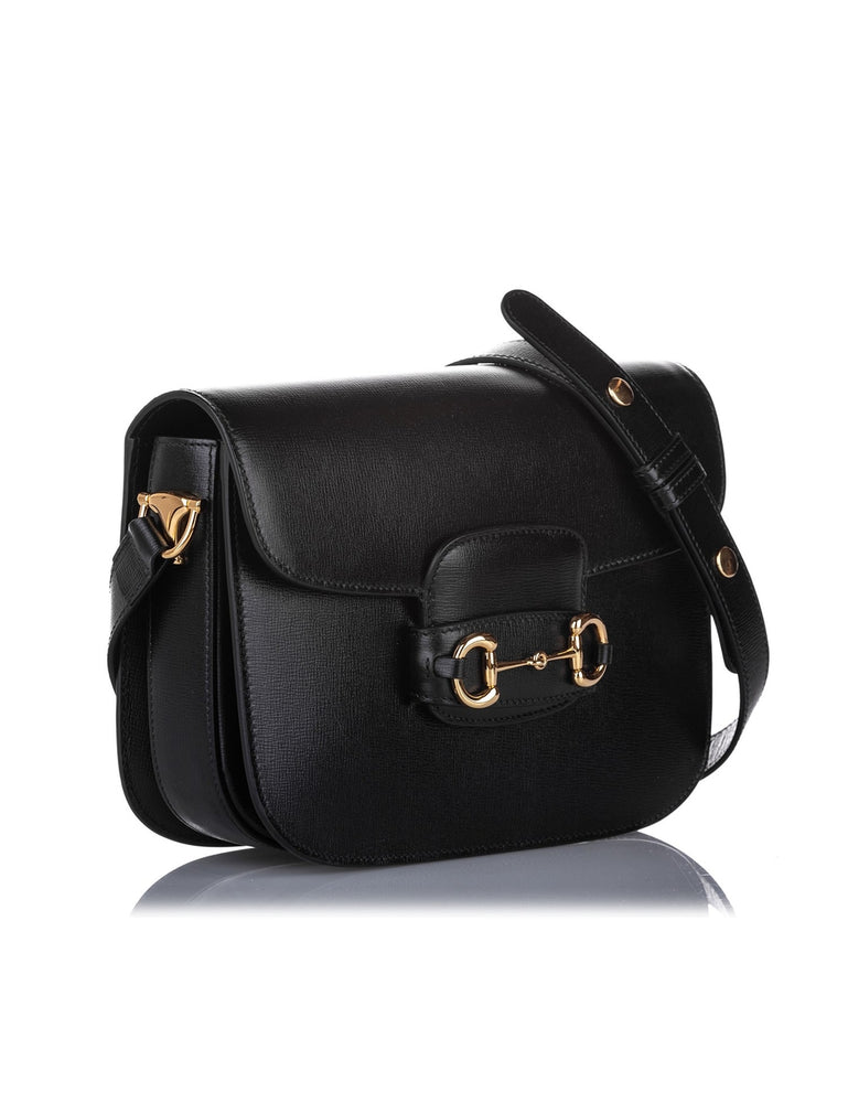Gucci Horsebit 1955 Leather Shoulder Bag