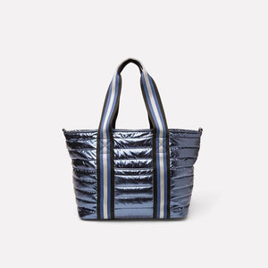 Load image into Gallery viewer, Think Royln Junior Wingman Bag  Shiny Blue Concrete