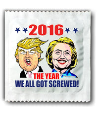Political condoms - the year 2016