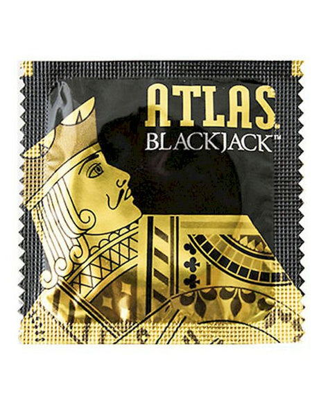 Atlas Blackjack condoms - RipnRoll.com