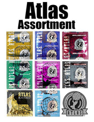 Atlas Condoms Assortment - RipNRoll.com