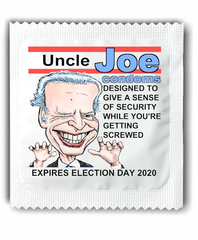 Creepy Uncle Joe Biden Condoms - Screwed