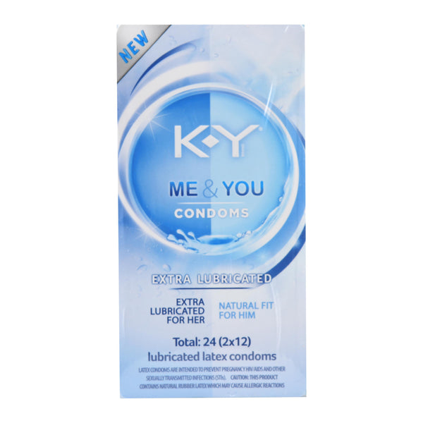 KY Extra Lubricated Condoms