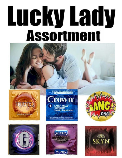 Best Condoms for her - Lucky Lady Condom Assortment