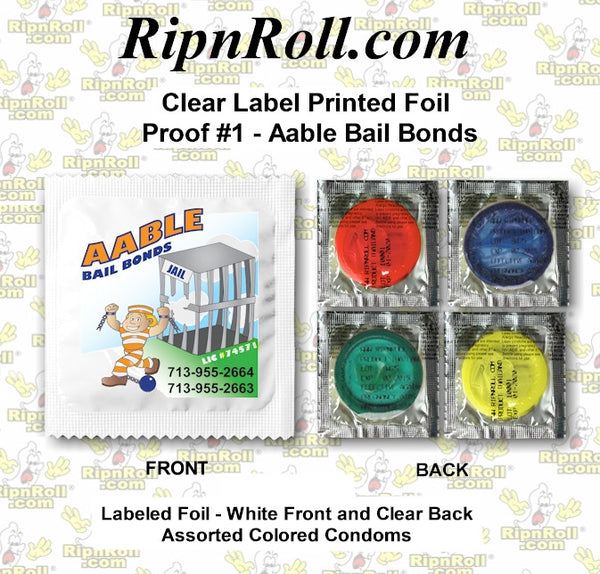 AAble Bail Bonds - Clear Labeled Condoms