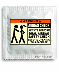 Airbag Safety Condoms - Funny Condoms