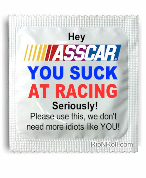 ASSCAR Condoms™ Bad Racing