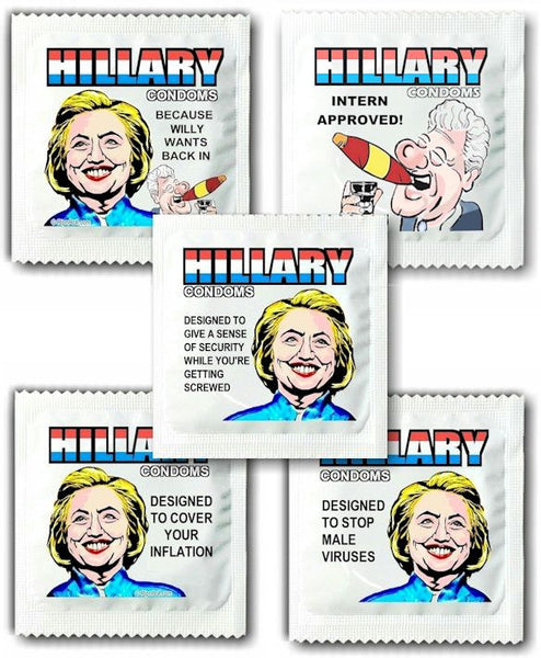 Hillary Condoms Assortment