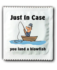 Fishing Condoms - Land a Blowfish