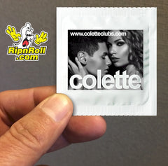 Colette - Printed White Foil with Full Color imprint