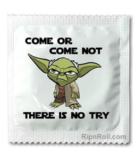 Star Wars condoms - there is no try