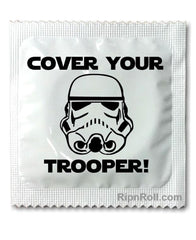 Star Warz Condoms - Trooper