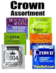 Crown Condoms Assortment