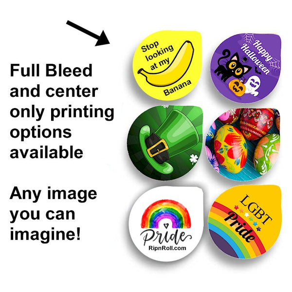 Custom Printed Condom Pods with Full Color Imprint