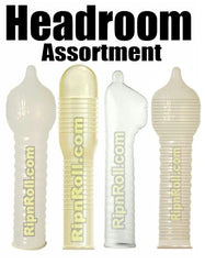 Extra Headroom condoms sampler - RipnRoll.com