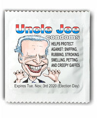 Joe Biden Creepy Condoms