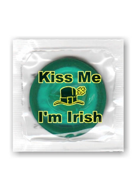 Kiss me I'm Irish condoms