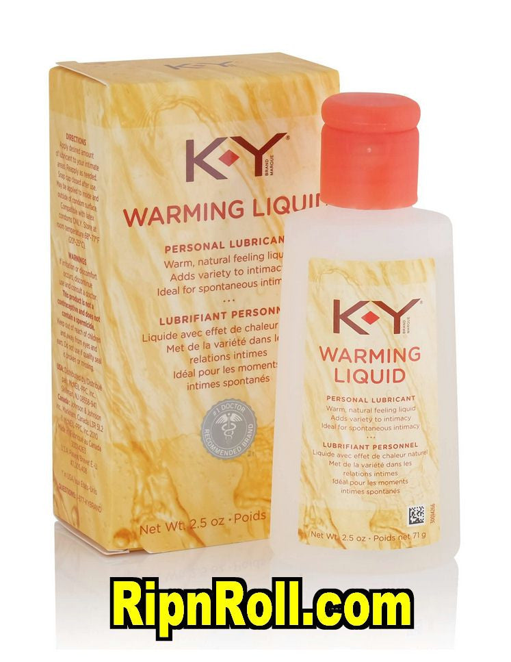 Ky warming lubricant