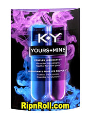 KY Yours and Mine Couples Lubricants.