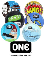 One Condoms Assortment Sampler