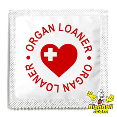 Organ Loaner Condoms - RipNRoll
