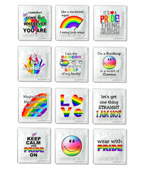 Gay Pride condoms -  Assortment