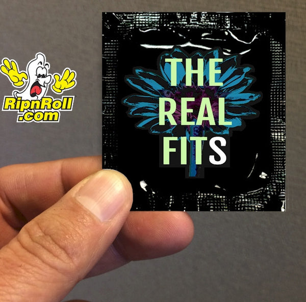 The Real Fits #1 - Direct Printed Foil with Full Color imprint