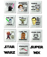 Star Wars condom assortment