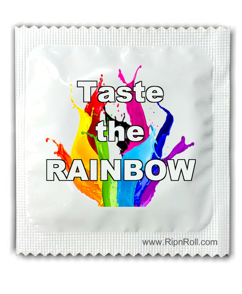 Gay Pride - Taste The Rainbow condoms