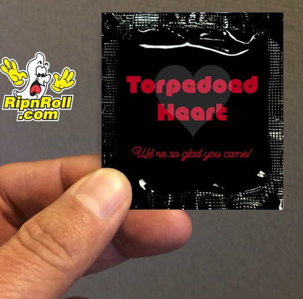 Torpedoed - Direct Printed Foil with Full Color imprint