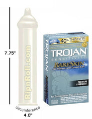 Trojan Bareskin Sensitivity Condoms - RipnRoll.com