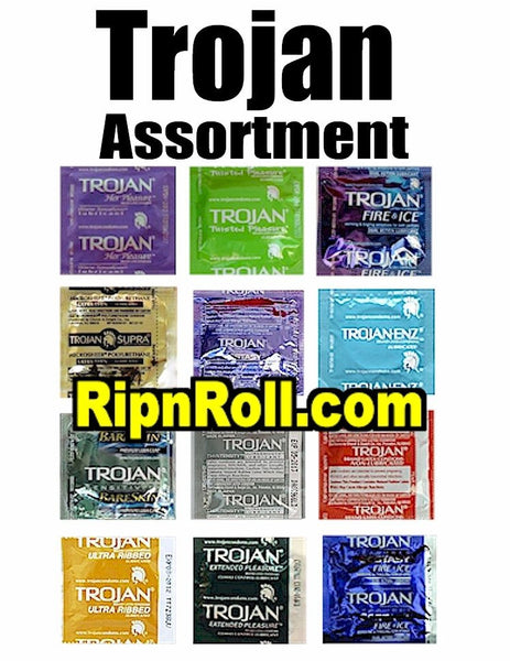 Trojan Brand Condoms assortment