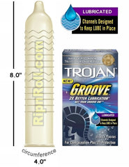 Trojan condoms types
