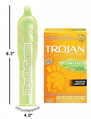 Trojan Twisted Stimulations Condoms - RipnRoll